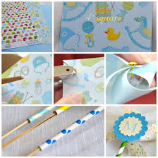 diy paper pinwheels adorable baby shower decoration she