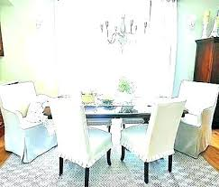 Pottery Barn Chair Cover Dining Room Protectors White Covers