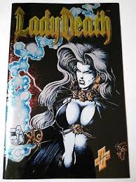 LADY DEATH II Between Heaven And Hell 1 CHROMIUM COVER