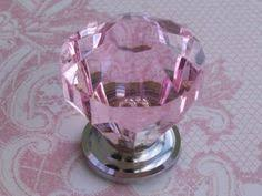 Pink Dresser Knobs Target by Threshold Acrylic Faceted Knob 4 Pack Pink Online Item