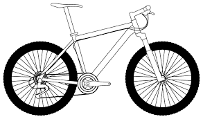 6irogy7XT 20 Bike Clipart 17 Black And White