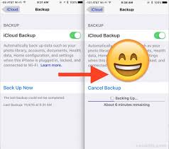 "Fix ""the last backup could not be pleted"" iOS iCloud Backup Error"