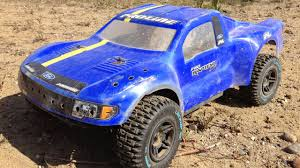 Team Losi TEN-SCTE 4x4 Ford Raptor Short Course RC Truck Bashing Fun ...