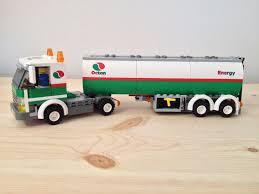 100 Lego Tanker Truck City Town Octan Kit 3180 Assembled Mint EBay