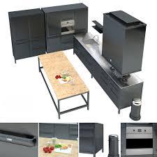vipp küche 3d modell turbosquid 1166866