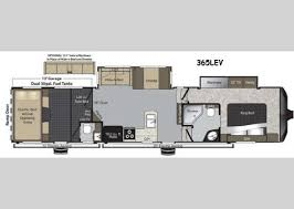 Raptor 5th Wheel Toy Hauler Floor Plans by New Keystone Rv Raptor 365lev Toy Hauler Fifth Wheel For Sale