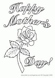 Preschool Coloring Pages Of Mothers Day Free To Print Out 72108