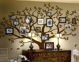 family tree wall decal tree wall decal photo frame tree wall