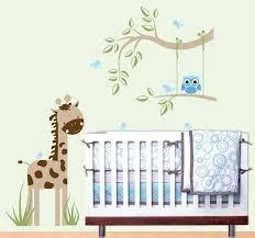 stickers jungle chambre bébé stickers muraux chambre bebe stickers muraux chambre bacbac jungle