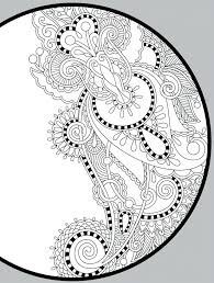 Christmas Coloring Pages For Adults Pinterest Free Printable Geometric Online Animals Peacock Page Small