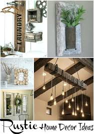 Modern Rustic Home Decor Ideas Also With A