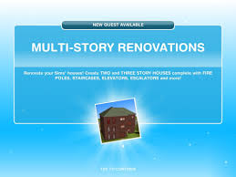 Sims Freeplay Second Floor Mall Quest by Sims Freeplay Multi Story Renovations Youtube