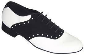 make any shoes into vintage dance shoes