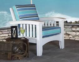 Outdoor Furniture Cushions Sunbrella Fabric by Cypress Mission Chair W Sunbrella Cushions