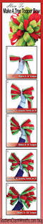 Martha Stewart Pre Lit Christmas Tree Troubleshooting by Best 25 Christmas Tree Ribbon Ideas On Pinterest Christmas Tree