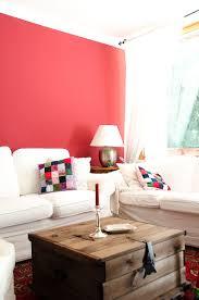 wandfarbe farbe rot kaminrot wohnzimmer landhausstil country