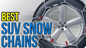 8 Best SUV Snow Chains 2016 - YouTube