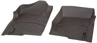Chevy Colorado Weathertech Floor Mats by Amazon Com Weathertech 440661 Custom Fit Front Floorliners Black