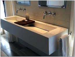 Ikea Vessel Sink Canada by Bathroom Trough Sinks For Bathrooms Deep Vessel Sink Narrow