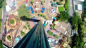 Falcon s Fury on ride HD POV 60fps Busch Gardens Tampa
