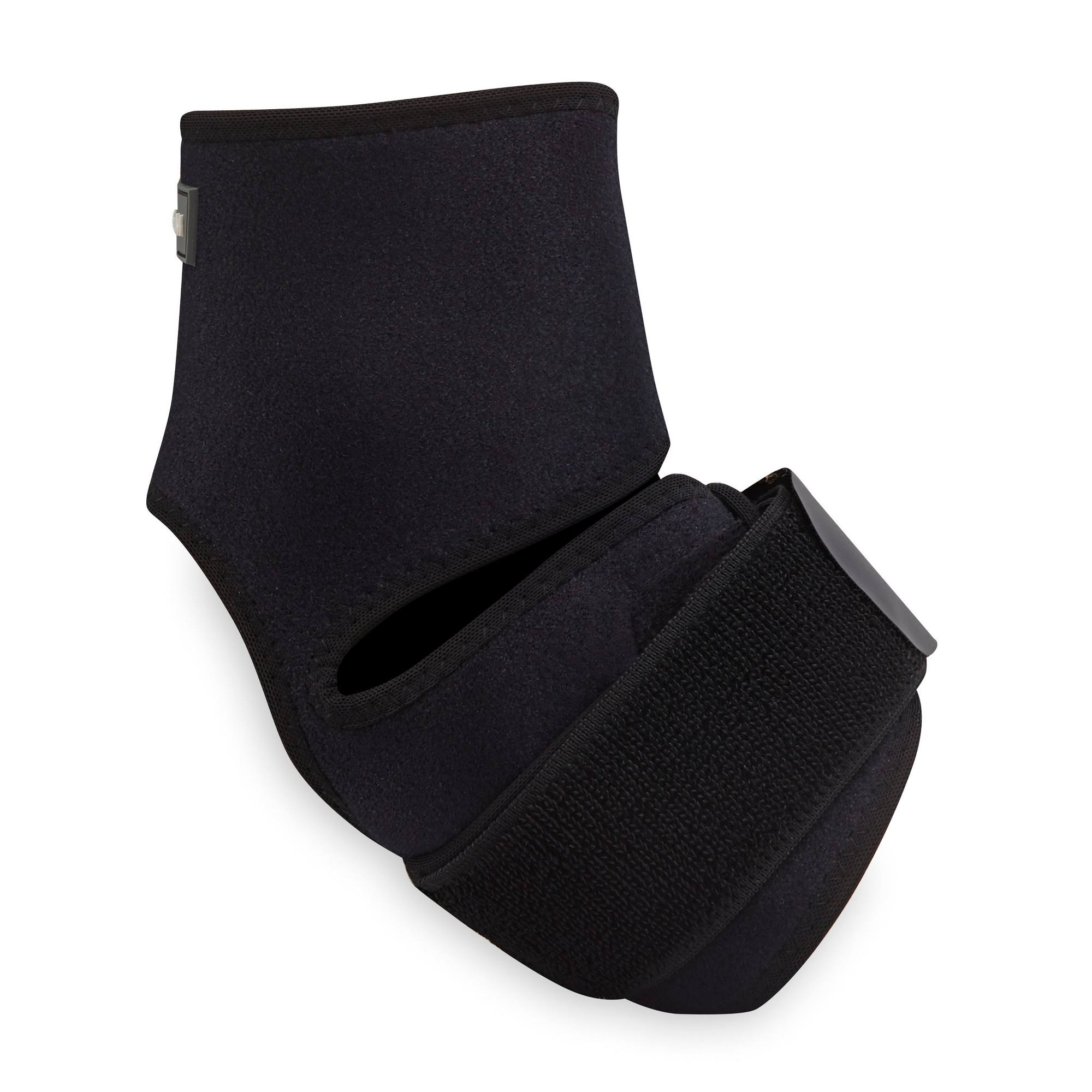 Gaiam Restore Hot and Cold Therapy Foot Wrap - Black