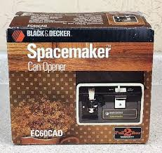 Black And Decker Under Counter Can Opener by Vintage Black U0026 Decker Spacemaker Can Opener Ec 60cad Under The