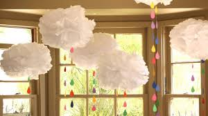 How To Make Tissue Paper Clouds