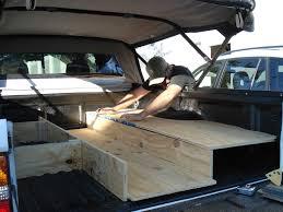 Beautiful Truck Bed Sleeping Platform Ideas Also Mat Quarters System ...