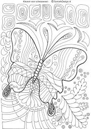 Adult Coloring Pages Colouring Frontal Lobe Dementia Art Therapy Zentangles Bugs Insects
