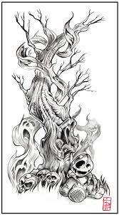 Tree Of Sorrow By Daxotattoos
