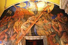 Jose Clemente Orozco Murales San Ildefonso by Mexican Muralism Wikipedia