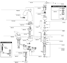 gold glacier bay kitchen faucet parts single hole handle side