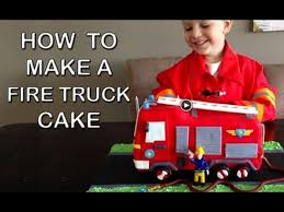100 You Tube Fire Truck Cake CakeCentralcom