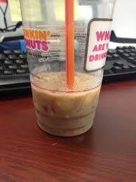 Pumpkin Iced Coffee Dunkin Donuts by Dunkin U0027 Donuts Caramel Mocha Iced Latte Review Fast Food Geek