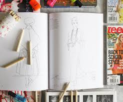 Vogue Colouring Book Preview