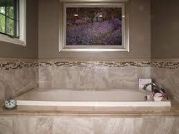 Tiling A Bathtub Surround by True Tile Troy And Dayton Ohio Area Tile Installation And Repair