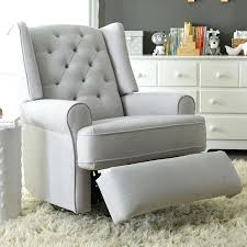 100 Reclining Rocking Chair Nursery Recliner 70 Chloe Sand Fabric Swivel Glider Recliner