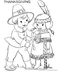 Free Printable Thanksgiving Coloring Pages For Toddlers