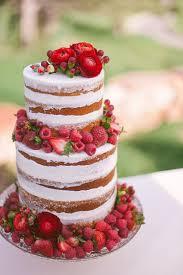 10 Sensational Semi Naked Wedding Cakes We This Moncheribridals