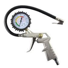 Auto Truck Type Tire Air Inflator Pressure Meter Dial Gauge ...