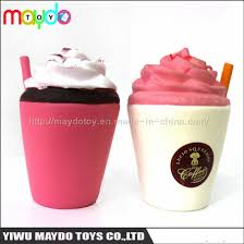 Hot Selling Squishies Starbucks Ice Cream Cups Slow Rising Toys
