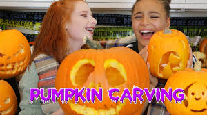 Snoopy Pumpkin Carving Kit by Halloween Pumpkin Carving Vlog How To Carve A Pumpkin Face