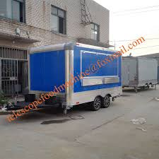100 Food Truck Equipment For Sale Blue Color Fast Trailer Europe Crepe Mobile