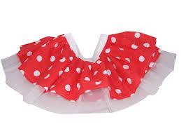 tutu skirts for women children polka dot 50 u0027s red u0026 white minnie