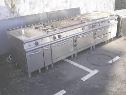 materiel de cuisine occasion ensemble ligne de cuisson élect gaz baron occasion throughout