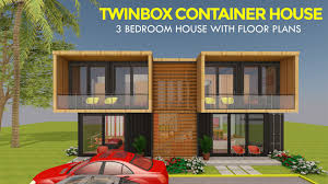 100 Shipping Container Cabin Plans 3 Bedroom Prefab Home Design TWINBOX 1280