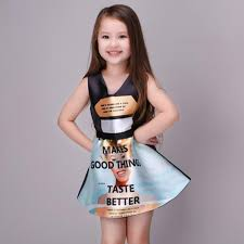 Hot 2017 New Summer Dress Girls Western Style Dresses Kids Vintage Party Vestidos Princess For