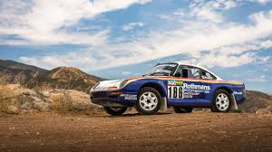 Paris-Dakar Porsche 959 Rally Car Is Headed To Auction For $3 ...