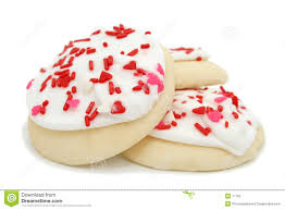 Christmas Sugar Cookie Clipart Three Sugar Cookies With White