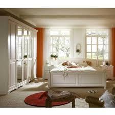 komplett schlafzimmer aus pinie massivholz weiß 4 teilig